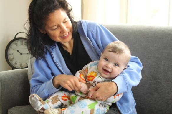 Baby and Aunt Leora